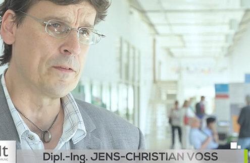 Dipl.-Ing. Jens-Christian Voss im Gespräch mit dem HDT